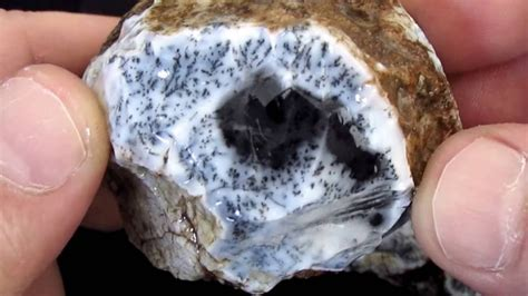 Dendritic Agate Twin 225 Gram Natural Rough Gemstone   YouTube