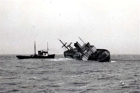 ship flying enterprise kurser og noteringer turmoil 1952 q ship 1916 heimdal
