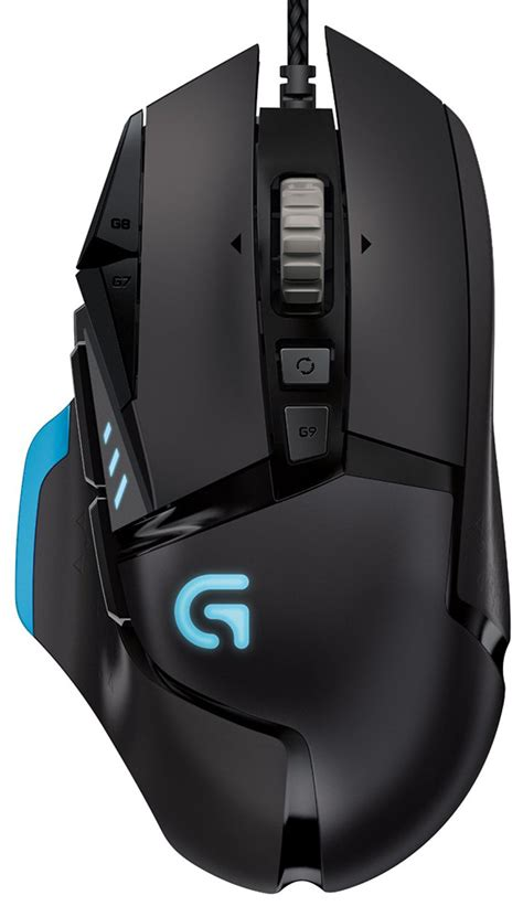 Logitech G502 Gaming Mouse Proteus 1 logitech g502 proteus wired gaming mouse pc the