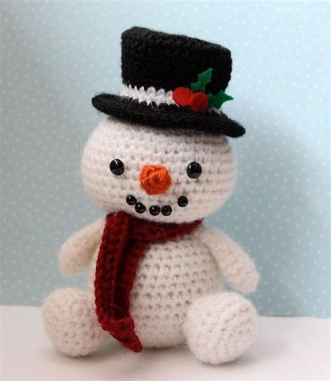 amigurumi snowman pattern free jolly the snowman by littlemuggles craftsy