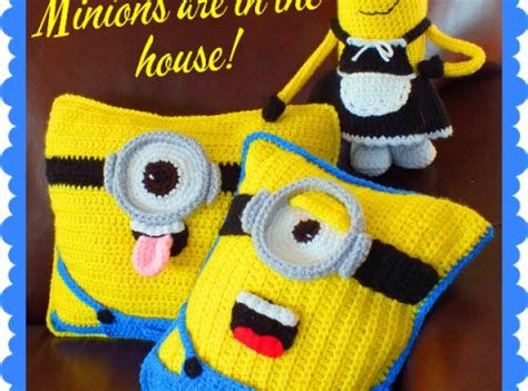 Sweater Minion 07 free pattern these minion inspired doll pillows patterns are a big hit knit and crochet daily