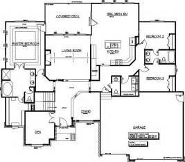 Daylight Basement Floor Plans custom floor plans main floor plan 2 for 10167e luxury