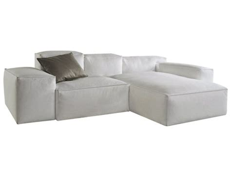 sectional leather sofa cadence les contemporains