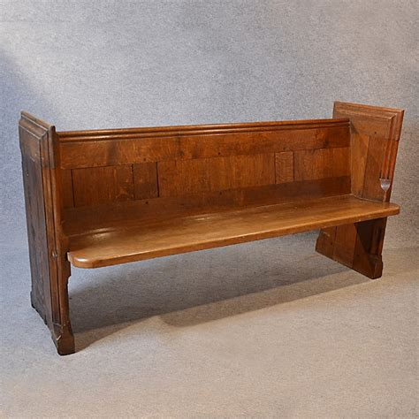 church benches antique pew english oak church settle victorian bench seat