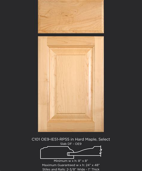 Cabinet Door Company C101 Oe9 Ie51 Rp55 Maple Select Taylorcraft Cabinet Door Company