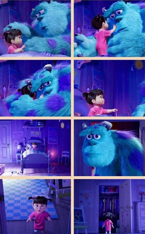 monsters inc boo singing in the bathroom sully and boo bit of pixie dust pinterest