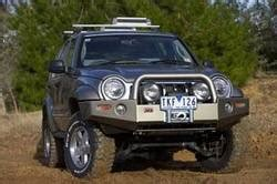 Jeep Liberty Winch Bumper Arb 4x4 Accessories 3450120 Front Deluxe Bull Bar Winch