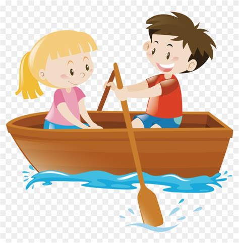 row the boat child rowing boat clip art row boat clipart free transparent