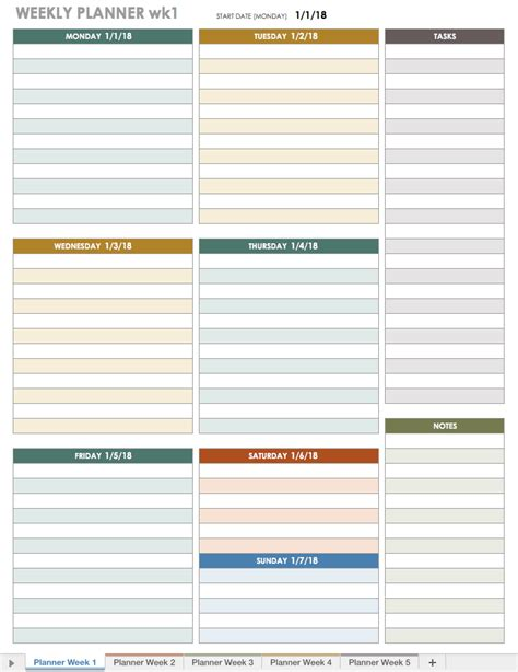 daily planner template illustrator weekly planner 2018 template templates data