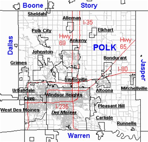 Polk County Iowa Records Polk City Iowa Map Kansas Map