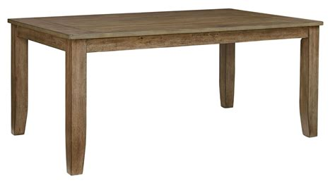Dining Table Weathered Gray Vintage Weathered Grey Rectangular Leg Dining Table From