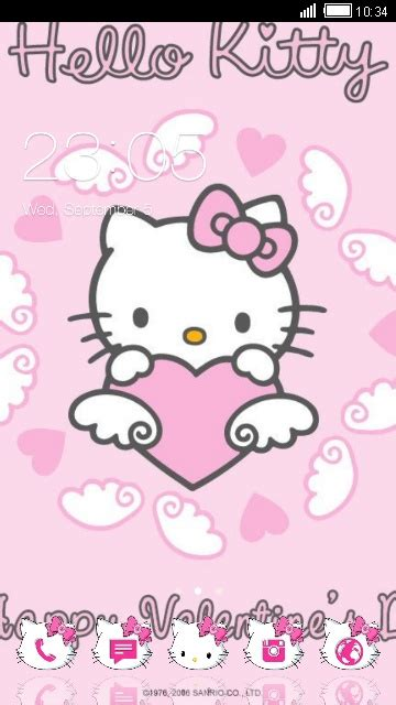 hello kitty themes in facebook download hello kitty theme for your android phone clauncher
