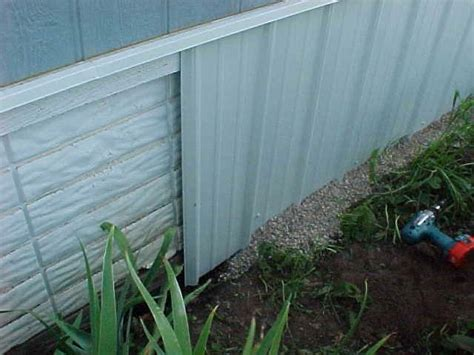 mobile home skirting panels trailer house underpinning