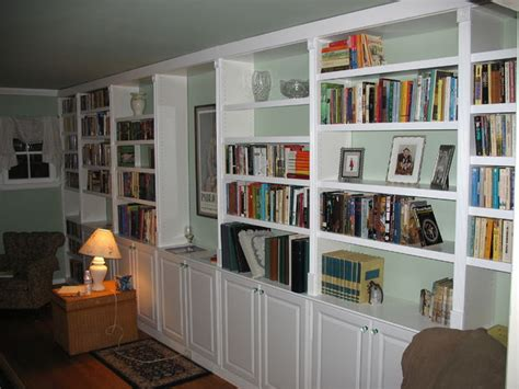 Built In Shelves And Cabinets by Built In Book Cases