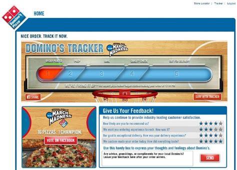 domino pizza tracker domino s pizza tracker stephen dalton copywriter
