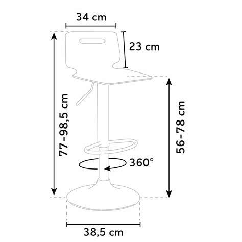 Dimensioni Sgabello Bar by Sgabello Per Bar E Cucina Acciaio Cromato San Jose Design
