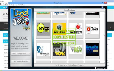 logo creator software the logo creator 5 1 mega pack for windows