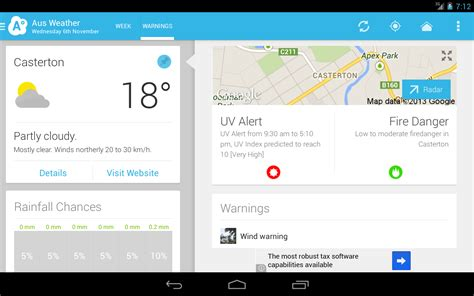 aus weather australia android apps on play