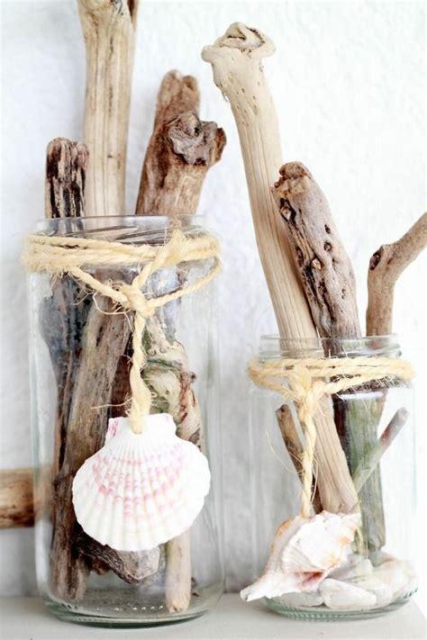 vasi con conchiglie vasi conchiglie legnetti i tesori mare les