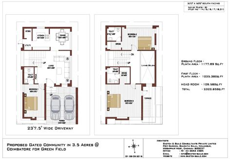 30x50 House Floor Plans 30x50 House Plans South Facing House And Home Design