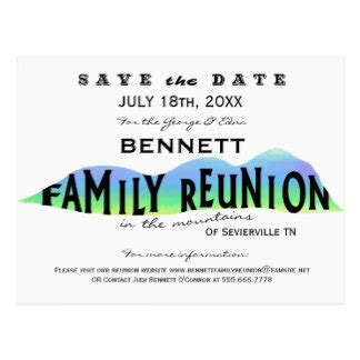 Family Reunion Gifts On Zazzle Reunion Save The Date Templates