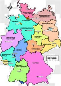 A Map Of Germany germany map map pictures