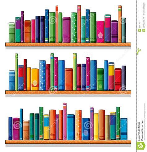 estantes para libros gratis estantes de madera con los libros fotograf 237 a de archivo