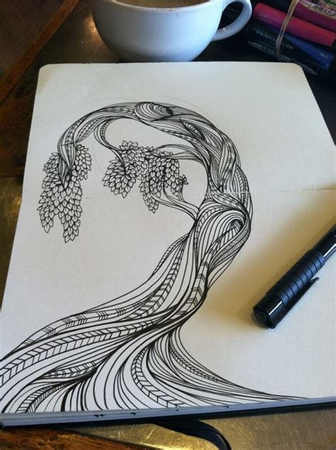 moleskine doodle ideas design inspiration doodles tangles