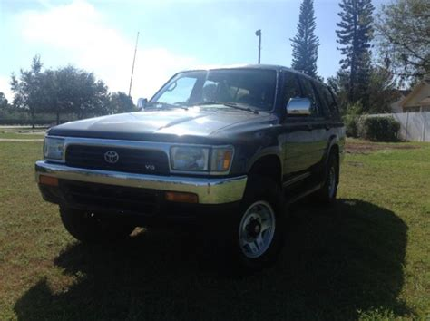 car owners manuals for sale 1992 toyota xtra windshield wipe control 1992 toyota 4runner sr5 4x4 5 speed manual v6 one owner truck for sale toyota 4runner 4x4 5
