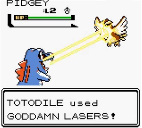 lazor gator twitch plays pokemon know your meme
