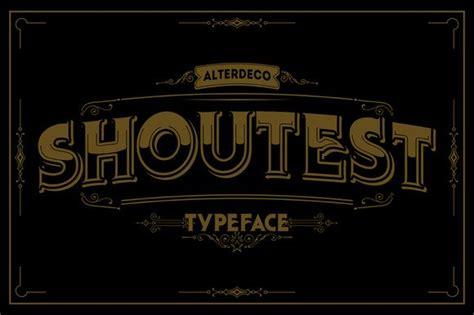 Hiasan Unik Barbershop sribu 20 vintage fonts yang harus anda miliki