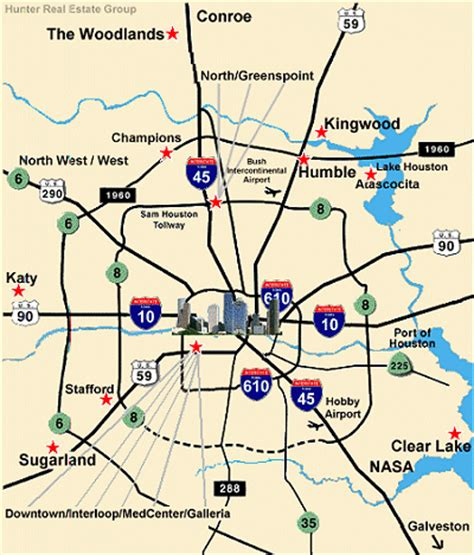 houston map highways object moved