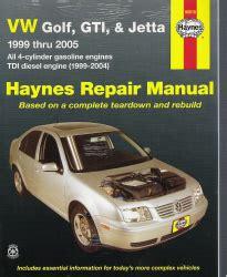 online car repair manuals free 1999 volkswagen golf electronic throttle control 1999 2005 vw golf gti jetta haynes repair manual