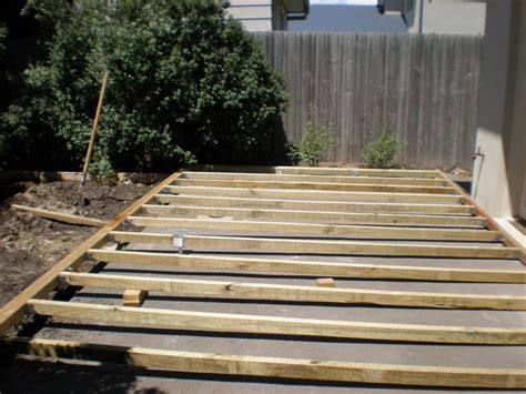 How To Lay Decking On Concrete Patio by Ethridge207