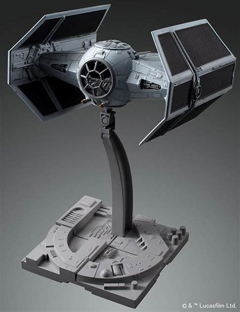 Bandai Starwars Tie Advanved X 1 172 Scale 1 72 tie advanced x1 manual color guide mech9 anime and mecha review site