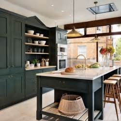 Green Kitchen Cabinets Painted by Painted Kitchen Design Ideas Decorating Housetohome Co Uk