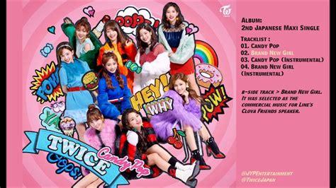 twice japan album full album twice candy pop 2nd japanese single album