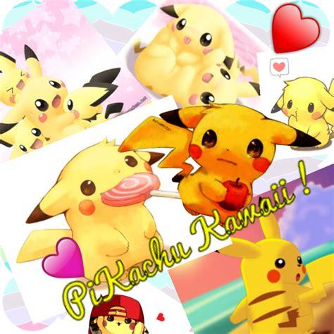 Collagen Kawaii appli createur de collage pikachu kawaii by skywolf749