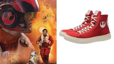 cool wars sneakers inspired by poe dameron geektyrant