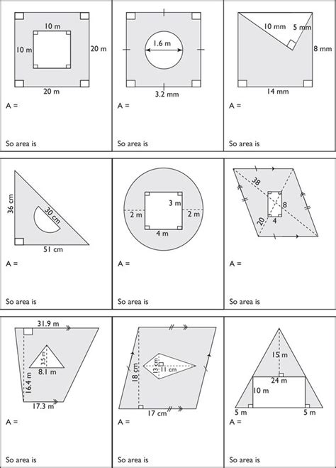printables area of composite figures worksheet mywcct
