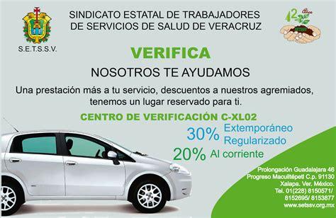 costo de verificacin 2016 xalapa calendario verificacion vehicular veracruz 2016