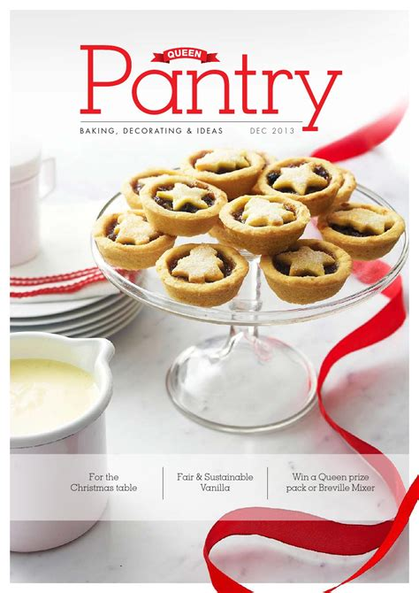 Pantry Recipes Generator by Pantry Magazine December 2013 By Foods