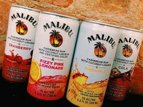 malibu rum can malibu rum on quot who s sipping on malibu cans this