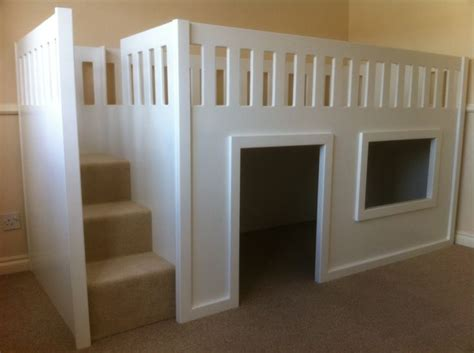 Twin Bed Rail Childrens Mid Sleeper Beds Woodworking Projects Amp Plans