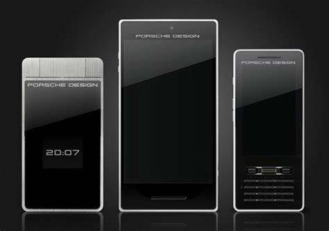 porsche design phone porsche design smartphone concept comes loaded with