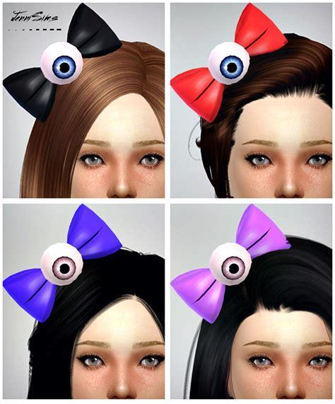 bow eye hair accessory at jenni sims 187 sims 4 updates bow eye hair accessory at jenni sims 187 sims 4 updates