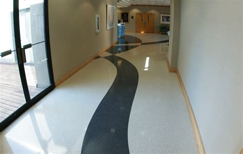 Bonitz Flooring by Terrazzo Project Musc Wellness Center Charleston South