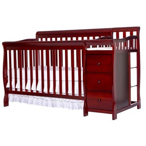 5 In 1 Crib With Changing Table Brody 5 In 1 Convertible Crib With Changer On Me