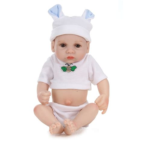 dolls play house 11inch handmade reborn baby doll lifelike baby boy play house bath toy alex nld
