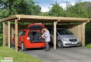3 Car Garage Design carport en bois carport en m 233 tal abri voiture mon